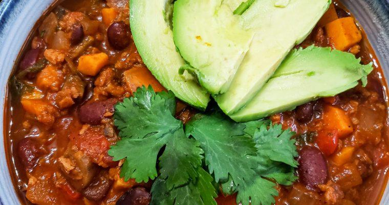 Vegan Chili with Spicy Soy Chorizo