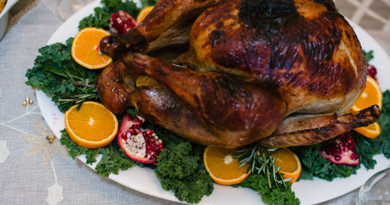 Apple and Herb Brined Turkey with Cider Gravy