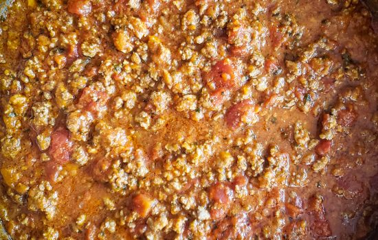 Slow Simmer Authentic Bolognese Sauce