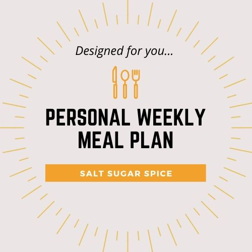 PERSONAL WEEKLY MEAL PLAN IMAGE