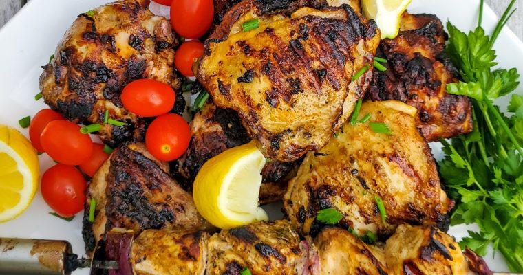 Yogurt-Marinated Grilled Chicken